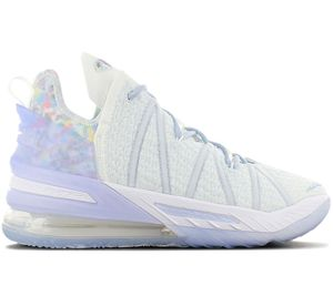 Nike LeBron 18 XVIII - Play for the Future - Herren Basketballschuhe Blau CW3156-400 , Größe: EU 43 US 9.5
