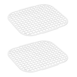 Alligator Ersatz-Reinigungsgitter aus Kunststoff, nur Alligator 3079G, weiß (2er Pack)