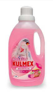 KULMEX® - WOOL & SILK Feinwaschmittel Gel, 12er Pack (1 x 240 Waschladungen) 0,07 EUR/ Waschladung