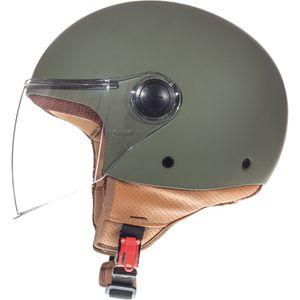 Mt Helmets Street Solid Green S