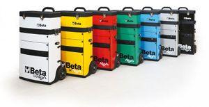 Beta Trolley mit 2 Stapelbaren Modulen, gelb