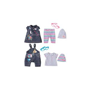 Zapf Creation 822210 BABY born? Deluxe Jeans Kolle