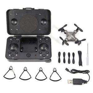 Mini Drohne,Fernbedienungsdrohne Für Adults Kids, Faltbarer Mini-Drohnen-Quadcopter Mit Höhenhaltemodus