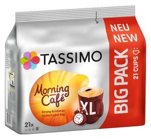 Tassimo Morning Café Big Pack | 21 XL, Kaffeekapseln