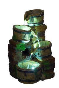 beleuchteter Brunnen Wasserkrüge 3 LEDs G53-17084 (Brunnen6) Springbrunnen