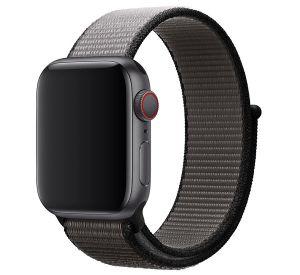 Apple MWTY2ZM/A - Band - Schwarz - Grau - Apple - Apple Watch 42mm Apple Watch 44mm - Nylon - Schwarz