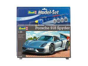 Revell Model Set Porsche 918 Spyder - Auto-Modellbausatz; 67026