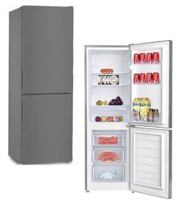 PKM KG230.4-2 IX INOX Design Kühlgefrierkombination Kühlschrank groß