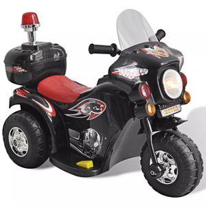 vidaXL Kinder-Elektromotorrad Schwarz