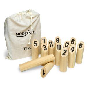 Toyfel Tölky Outdoor Holzspiel Wurfspiel aus Finnland