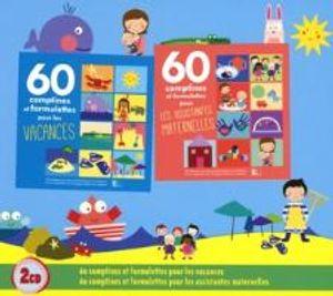 Coffret 2CD:60 Comptines & Formulettes Pou