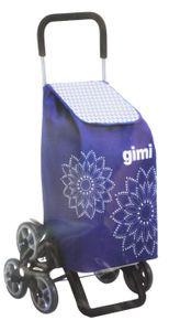GIMI Tris Floral Blau Einkaufstrolley Einkaufstasche 51 x 41 x 102 cm