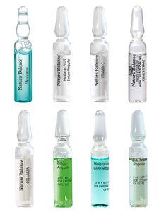 24 TAGES INTENSIV KUR Gesichtspflege 24 Ampullen 8  Sorten a 2ml Hyaluron Serum Augenfalten Kollagen Fruchtsäure Vitamin C Feuchtigkeit