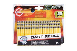 Zuru X-SHOT -Excel, 36er Pack Excel Refill Darts Farbkarte, Bulk, 24st; 3618