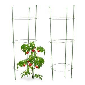 relaxdays Rankhilfe Tomaten 2er Set