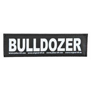 Julius-K9 Klettsticker L Bulldozer