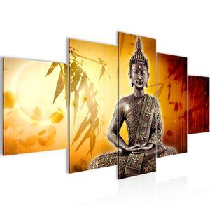 Buddha BILD :200x100 cm − FOTOGRAFIE AUF VLIES LEINWANDBILD XXL DEKORATION WANDBILDER MODERN KUNSTDRUCK MEHRTEILIG 500351b