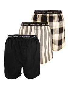 Calvin Klein Herren 3er Pack Slim Fit Boxer, Mehrfarbig M