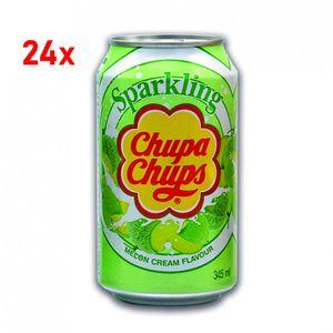 Chupa Chups Sparkling Melon Cream 24x345ml - inkl. Pfand
