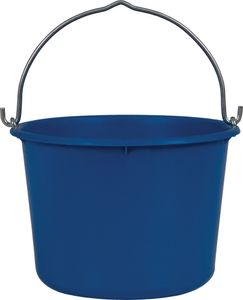 Baueimer 12 l schwer, blau