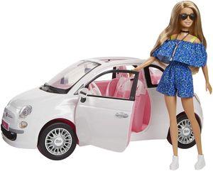 Barbie, FVR07, Barbie mit Fiat 500, Puppe und Auto