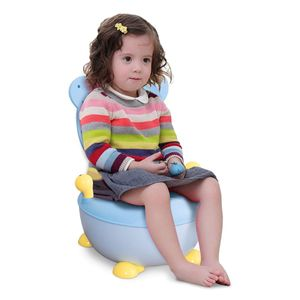 COSTWAY Toepfchen Kinder Toilettensitz Baby Kindertoilette 34x33x22cm Toilettentrainer Babytopf Lerntoepfchen