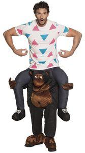Boland Kostüme für Kinder Lustiger Gorilla unisex schwarz Größe L