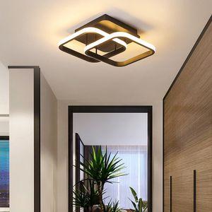 Modern LED Deckenleuchte Wohnzimmer Dimmbar, Design Esszimmerlampe