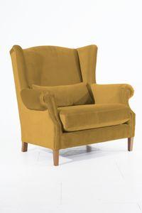 Max Winzer Harvey Big-Sessel - Farbe: mais - Maße: 115 cm x 95 cm x 117 cm; 30001-1100-2044266-F01