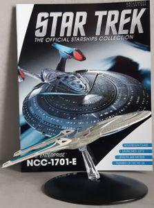 Star Trek U.S.S. Enterprise NCC-1701-E Starship (Box-Display Edition 8) EAGLEMOSS inkl. englisches Magazin