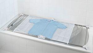 Badewannen-Wäscheständer Wäsche-Trockner Edelstahl