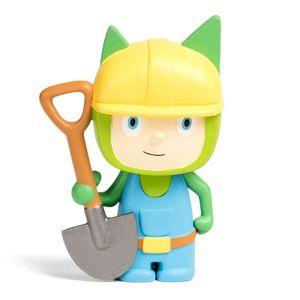 tonies Hörfiguren für Toniebox - Kreativ Bauarbeiter - ca. 90 Minuten Speicher für Deine Musik, Geschichten, Hörbücher und Eigene Audiodateien - DEUTSCH