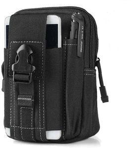 Outdoor Reisen Taktische Handy Gürteltasche Bauchtasche Hüfttasche Sport Tasche