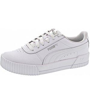 PUMA Carina Damen Sneaker Weiß Schuhe, Größe:38