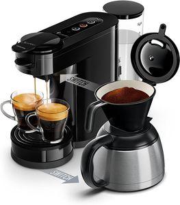 CYE&Senseo Switch 2in1-Kaffeemaschine Senseo Switch Noire