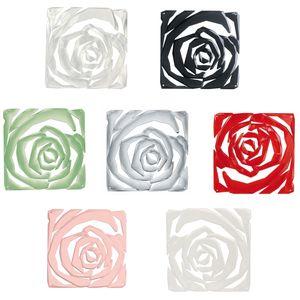 Koziol Dekoelement Raumteiler Romance, 4er-Set, Farbe:Grau