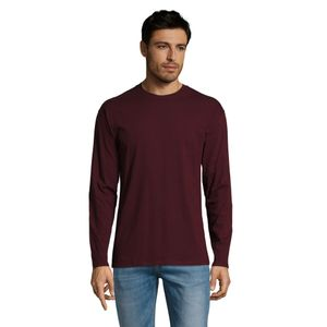 SOLS Herren Monarch Longsleeve / T-Shirt, Langarm PC313 (L) (Stierblut)