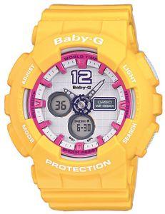 Casio Baby-G Armbanduhr BA-120-9BER AnaDigi Uhr gelb