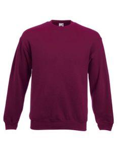 Classic Set-in Sweatshirt | Pullover - Farbe: Burgundy - Größe: L