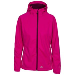 Trespass Damen Softshelljacke Sisely, wasserdicht TP3315 (L) (Pink)
