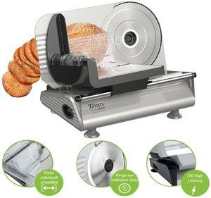 Zilan Brotschneidemaschine | Brotschneider | Bread Slicer | Allesschneider | Schneidegerät | 150 Watt