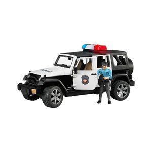 Bruder 2526 Jeep Wrangler Unlimited Rubicon Polize