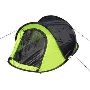 WOLTU Camping Pop Up Zelt Outdoor-Zelt für 2-3 Personen Wurfzelt Sekundenzelt wasserdicht mit Tragetasche 145x240x100cm Grün