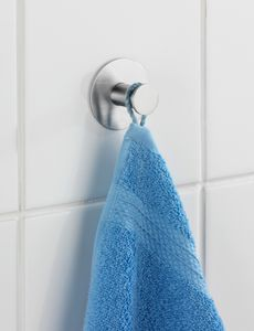 Wand-Haken Kleiderhaken selbstklebend Küche Bad Edelstahl Celano