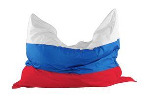 Sitzsack 180 x 140 cm, Länderflagge Russland Stand.-Var.