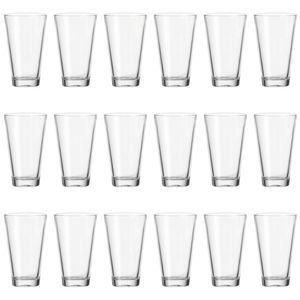 Leonardo Ciao Becher Groß 18er Set, Trinkglas, Wasserglas, Saftglas, Glas, 300 ml, 17206