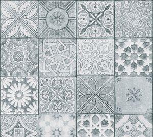 Livingwalls Vliestapete Neue Bude 2.0 Tapete weiß grau schwarz 10,05 m x 0,53 m 362053 36205-3