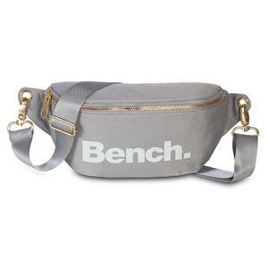 Bench. Bauchtasche Gürteltasche XS Schultertasche hellgrau