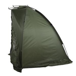 Angelzelt Wurfzelt Karpfenzelt Zelt Campingzelt Schirmzelt Sonnenschirm Tragbar 1-2 Personen