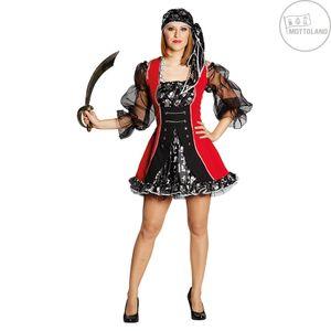 Piratenbraut Piratin Pirat Freibeuterin Karneval Fasching Kostüm 44